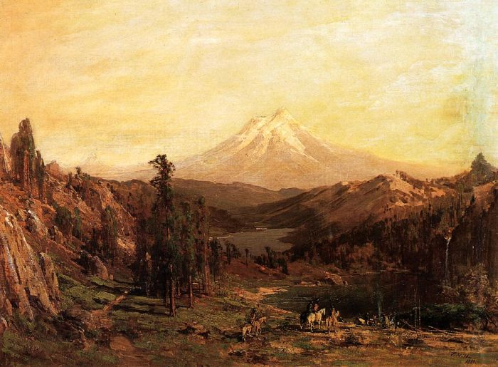 Thomas HillReproductions-Mount Shasta and Castle Lake, California, 1880