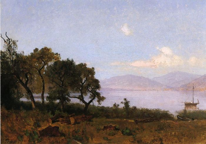Thomas HillReproductions-Morning, Clear Lake, 1876