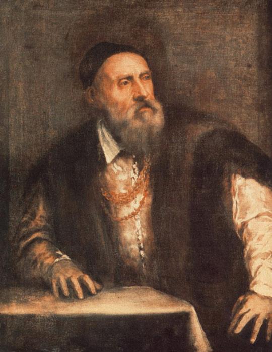 Titian Oil Painting- Self-Portrait