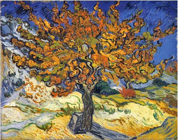Paintings Reproductions Vincent van Gogh The Mulberry Tree, 1889