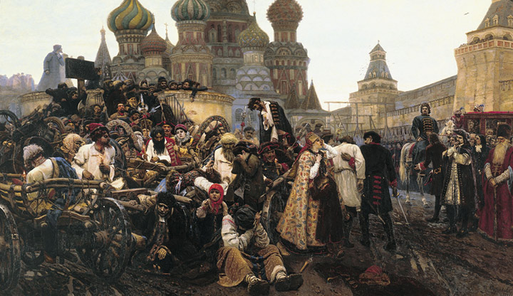 Paintings Vasily Ivanovich Surikov