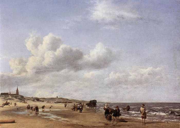 Paintings Adriaen van de Velde