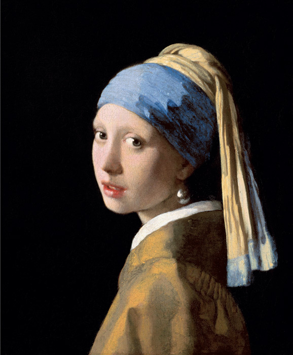 Girl with a Pearl Earring, 1665 Vermeer, Johannes Painting Reproductions