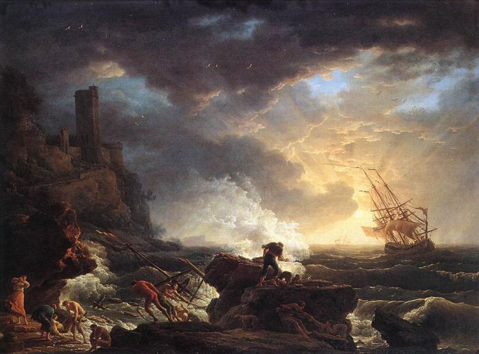 Paintings Claude-Joseph Vernet