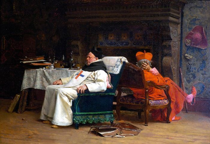Paintings Jehan Georges Vibert