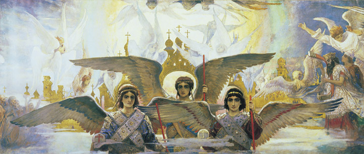 Paintings Viktor Mikhailovich Vasnetsov