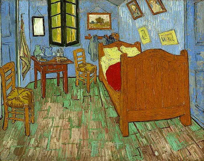 Vincent van Gogh  Reproductions-The Bedroom, 1889