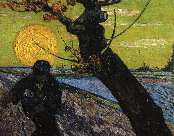 Vincent van Gogh  Reproductions-The Sower, 1888
