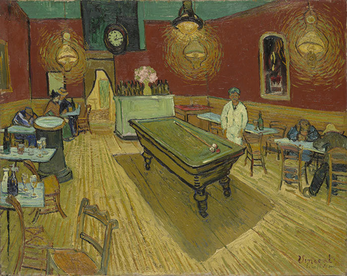 Vincent van Gogh  Reproductions-The Night Cafe, 1888