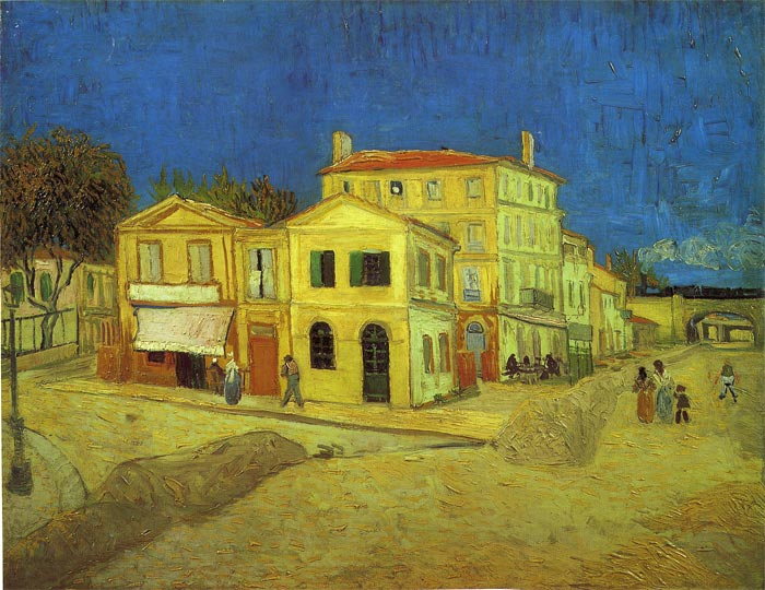 Paintings Reproductions Vincent van Gogh The Yellow House , 1888