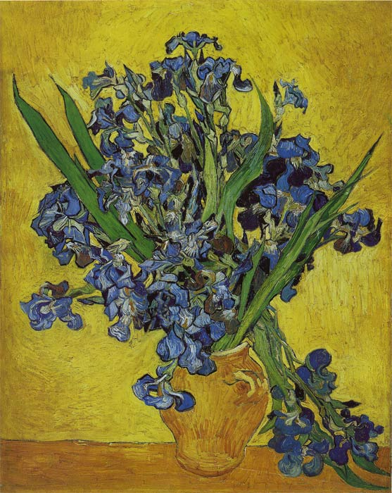 Paintings Reproductions Vincent van Gogh Irises, 1890