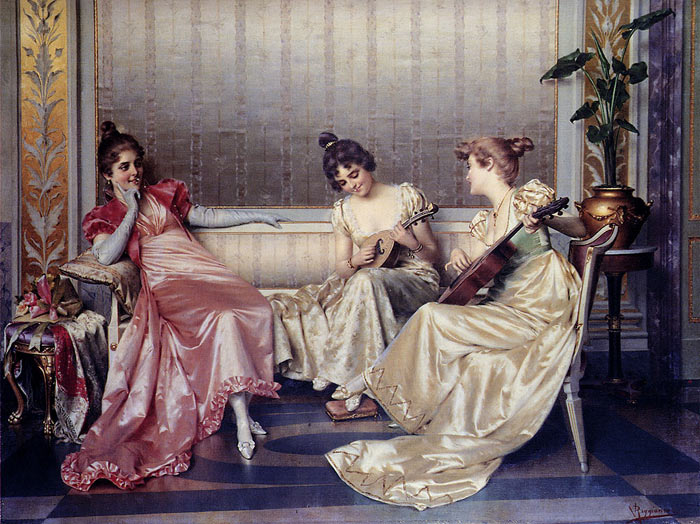Paintings Vittorio Reggianini