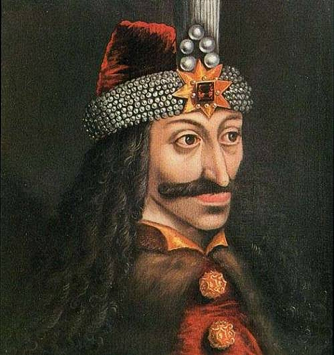 Custom PaintingsReproductions-Vlad the Impaler
