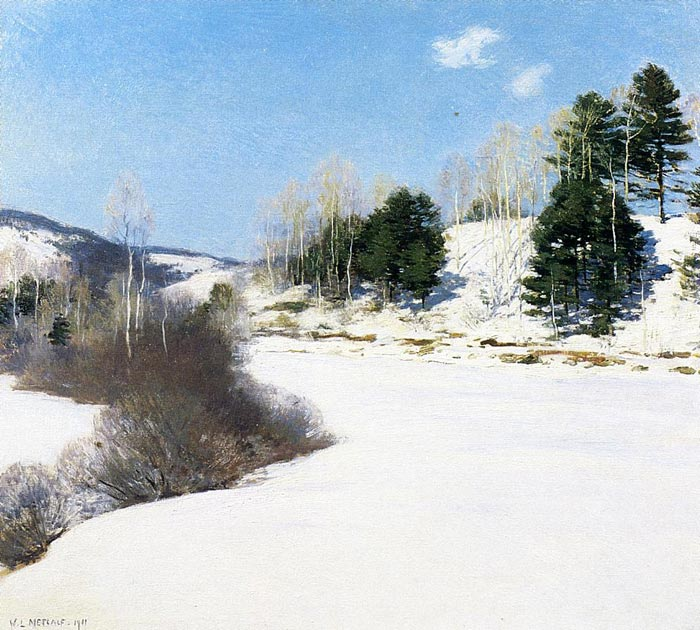 Paintings Willard Leroy Metcalf