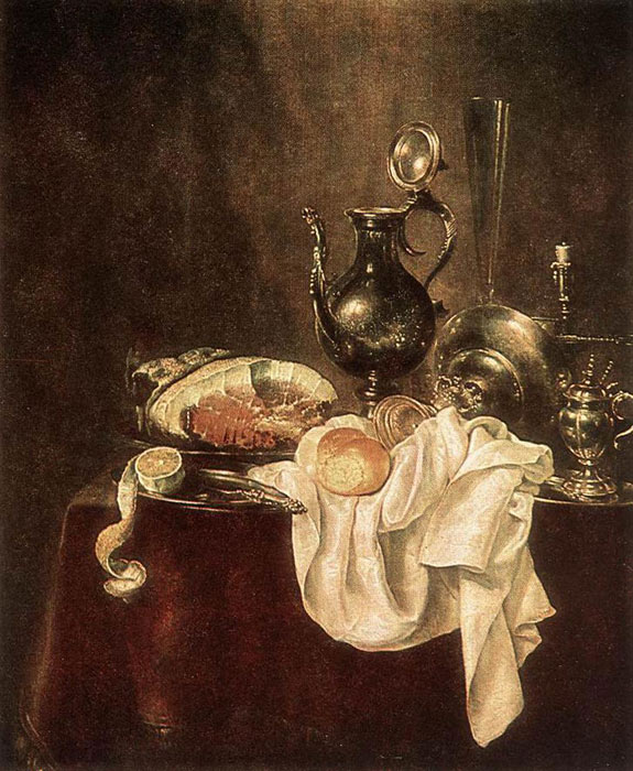 Paintings Willem Claesz Heda