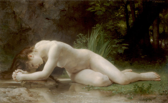 William Bouguereau Reproductions-Biblis, 1884