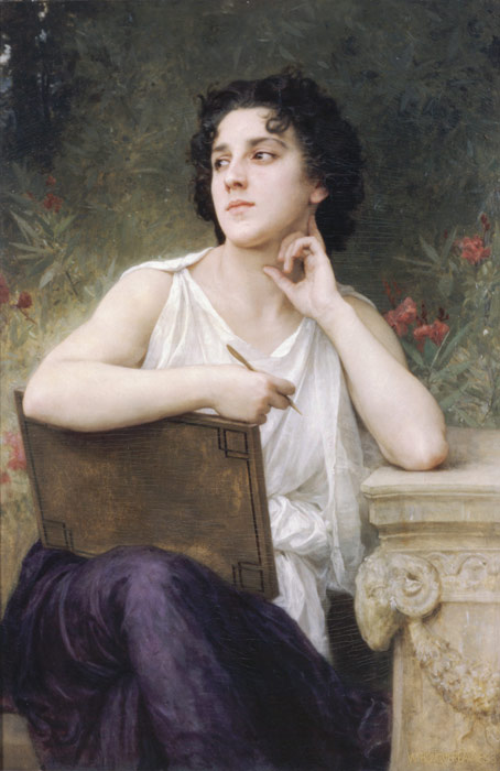 Paintings Reproductions Bouguereau, William Inspiration, 1898
