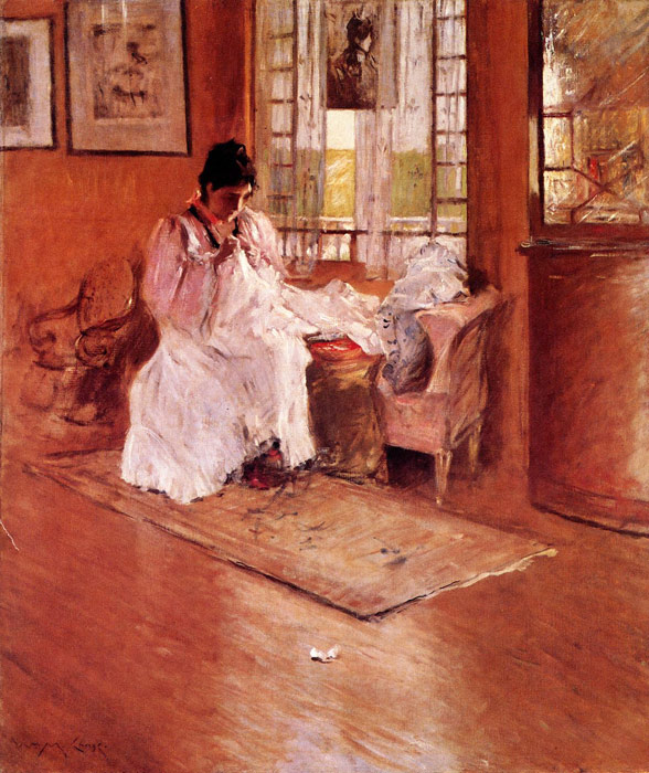 William Merritt Chase Reproductions-For the Little One aka Hall at Shinnecock, 1896