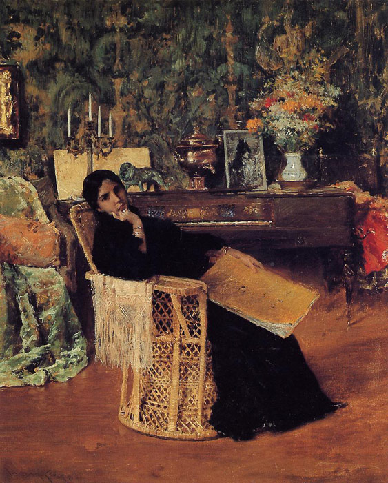William Merritt Chase Reproductions-In the Studio, 1892