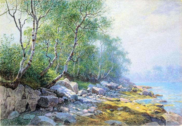William Stanley Haseltine  Reproductions-Seal Harbor, Mount Desert, Maine, 1895