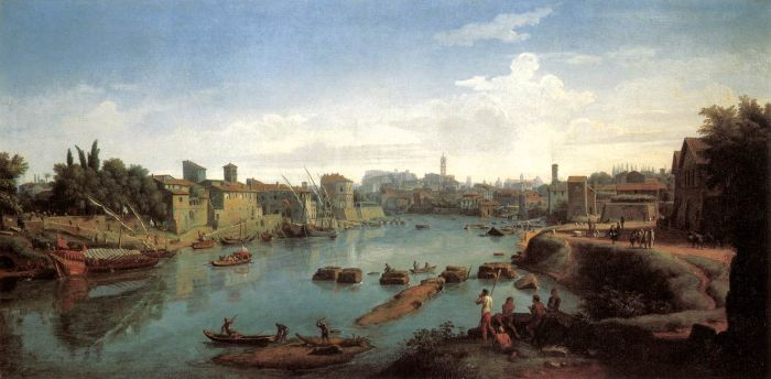 Paintings Caspar Andriaans van Wittel