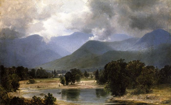 Alexander Helwig Wyant Reproductions-In the Keene Valley, New York , 1871