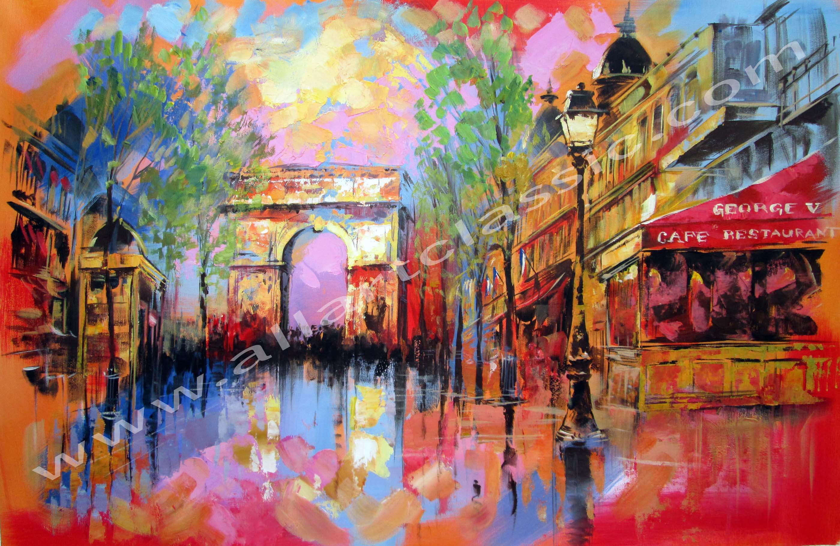 Montreal Custom Oil Painting
