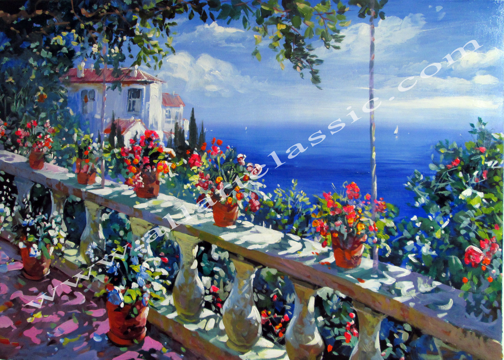 Flowers and Landscapes Paintings