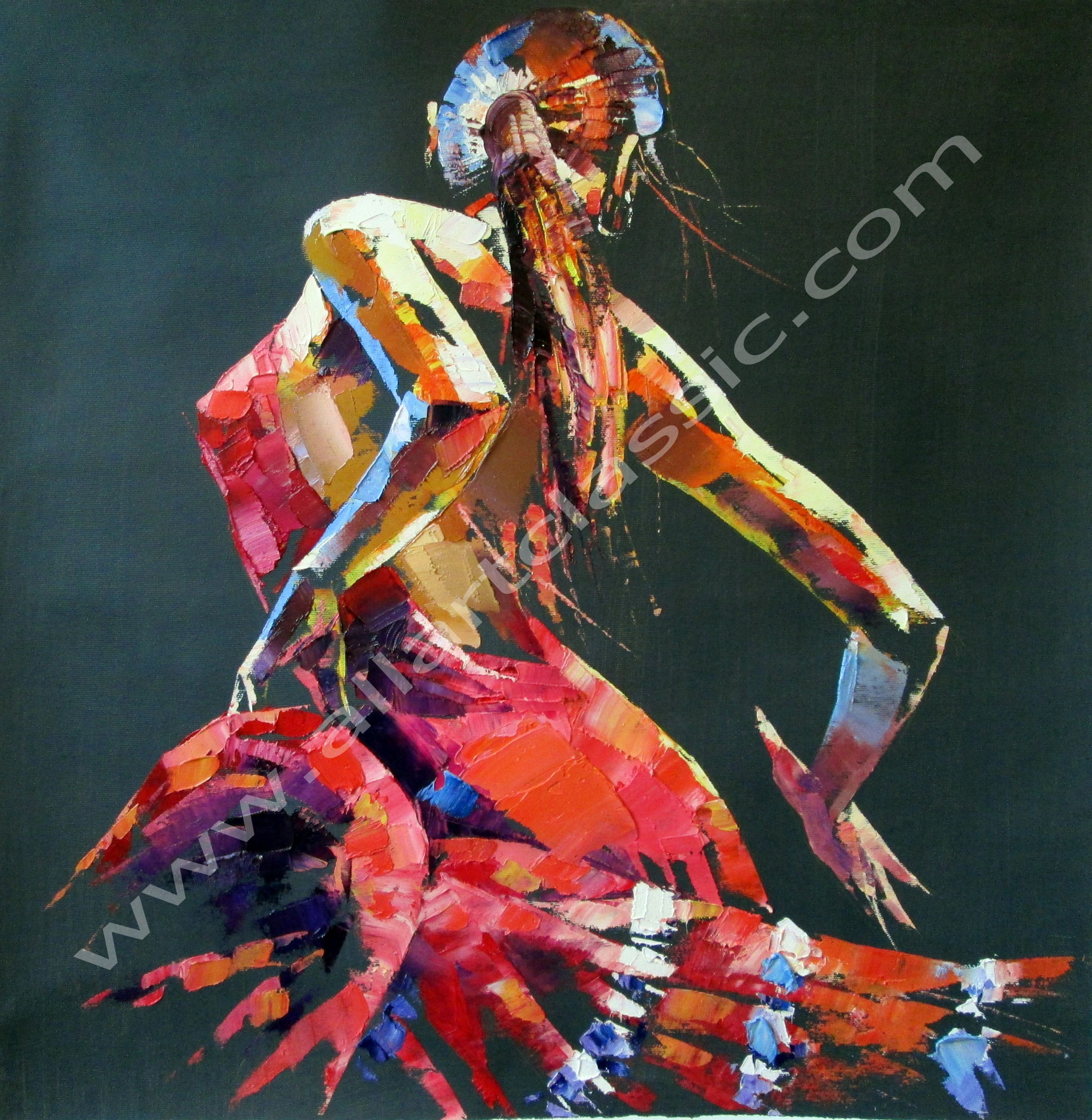 Dancers Paintings