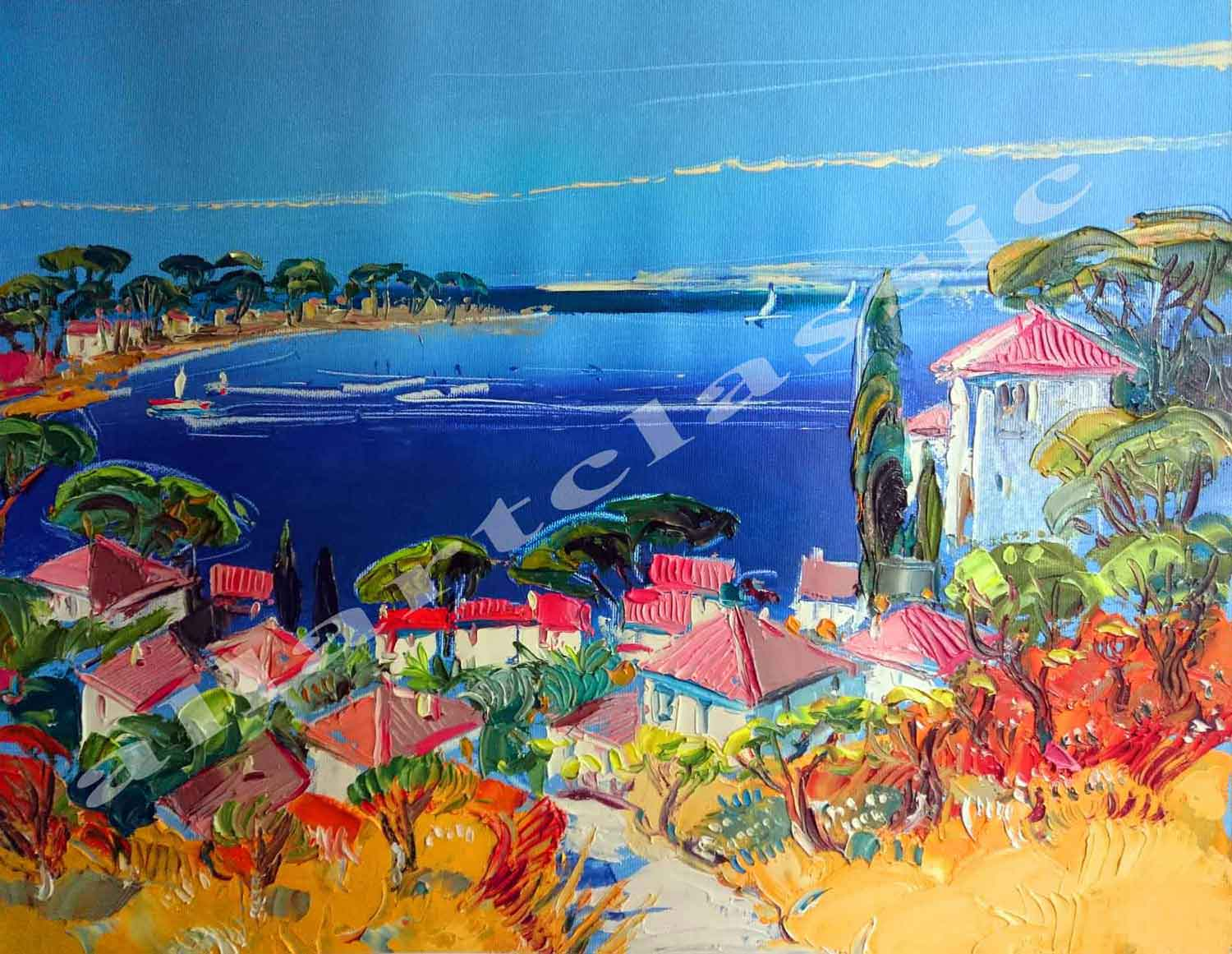 Original Oil Paintings-St. Tropez