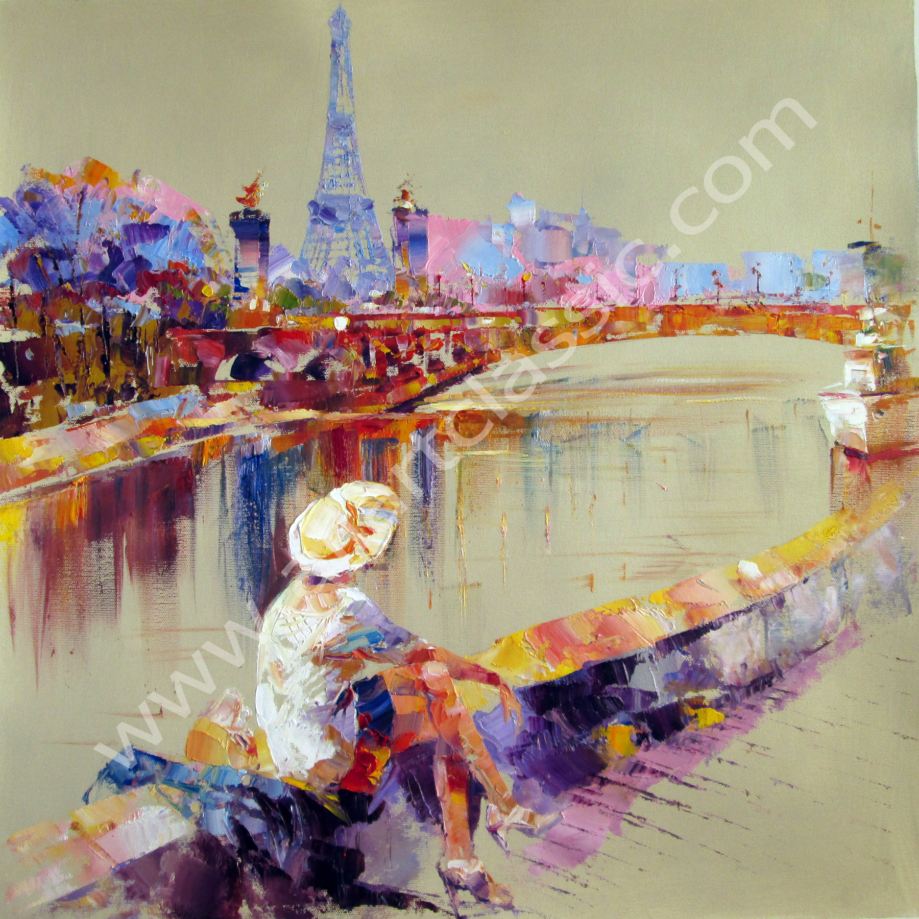 Paris views Paintings