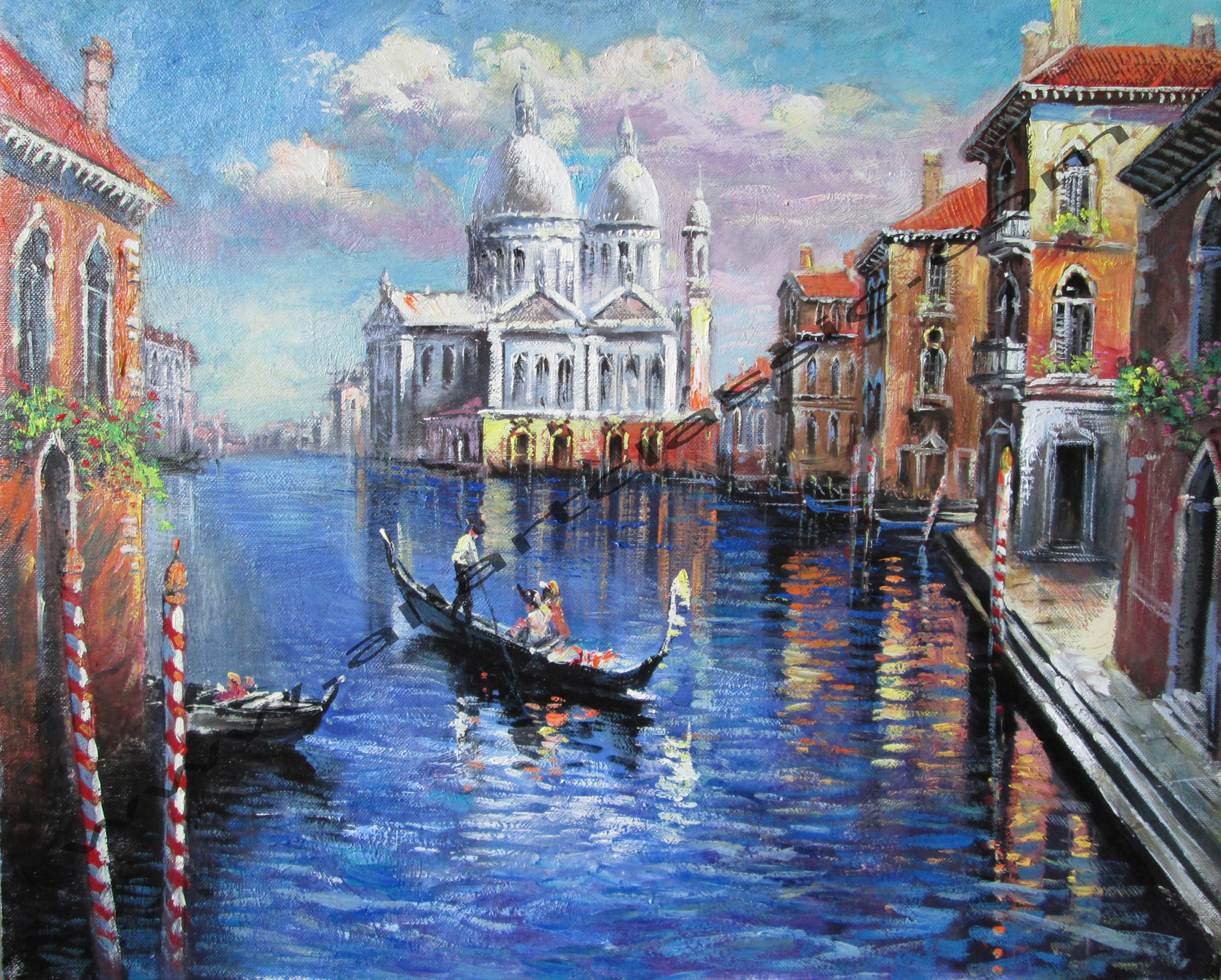Original Oil Painting - The Grand Canal, Venice