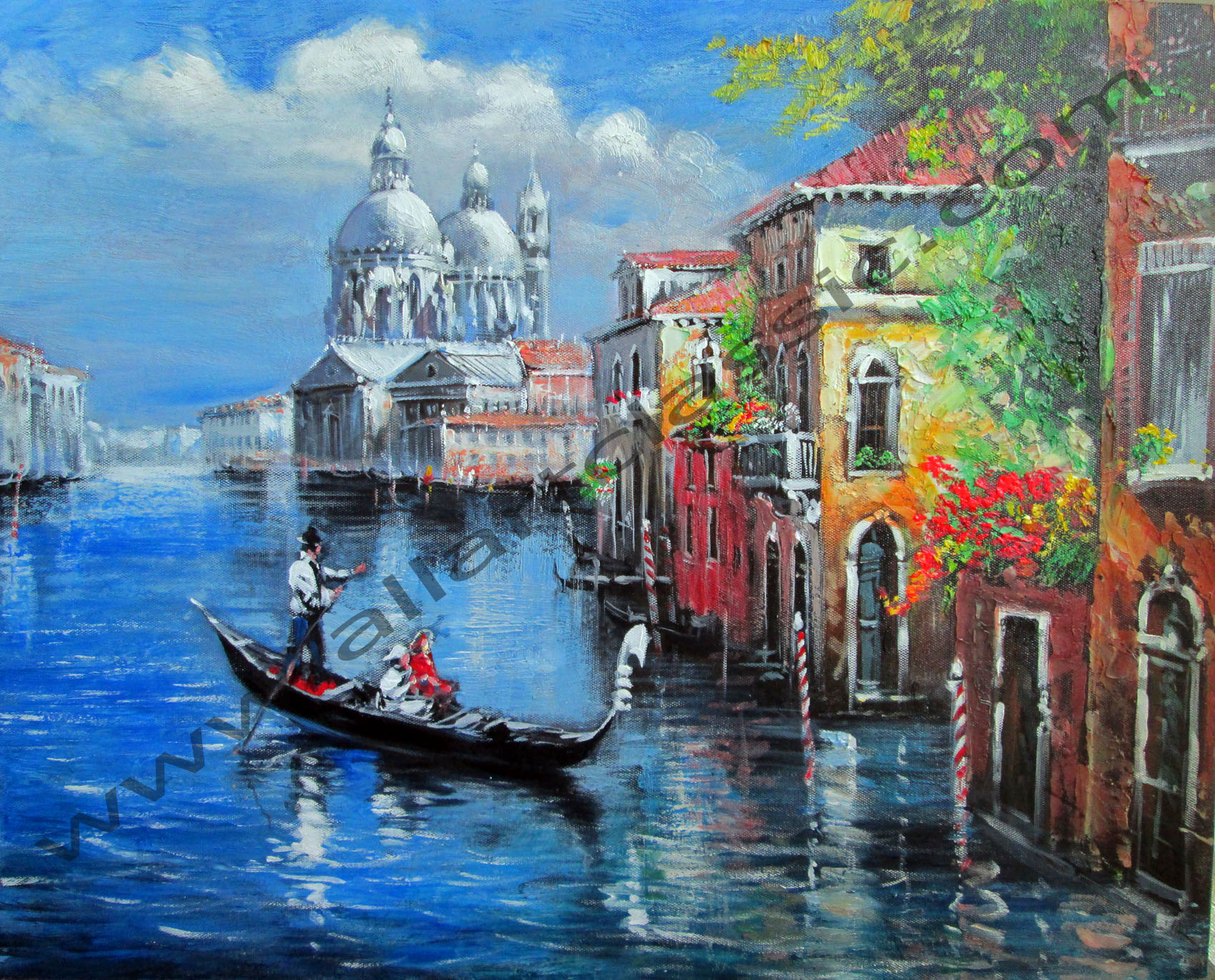 venetian views - Oil Painting
