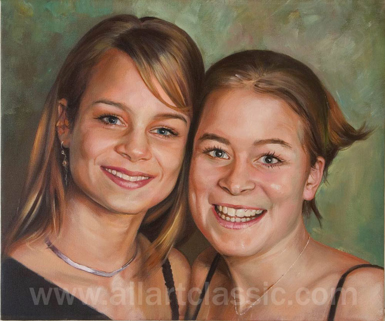 Custom Portrait Oil Painting from Photo
