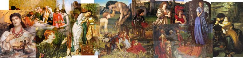 Pre - Raphaelite Paintings, Pre - Raphaelite Artists and Oil Paintings