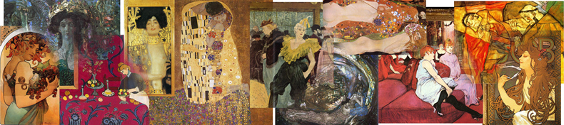 Art Nouveau Paintings, Art Nouveau Artists and Oil Paintings