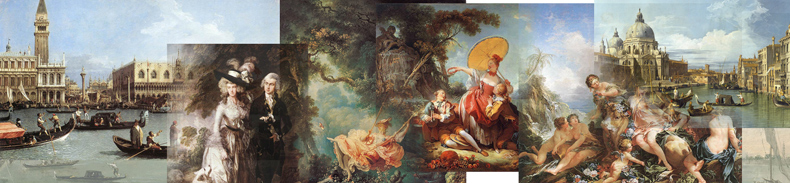 Rococo Paintings, Rococo Artists and Oil Paintings