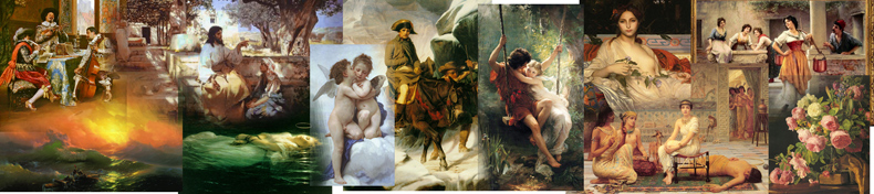 Academic Classicism Paintings, Academic Classicism Artists and Oil Paintings