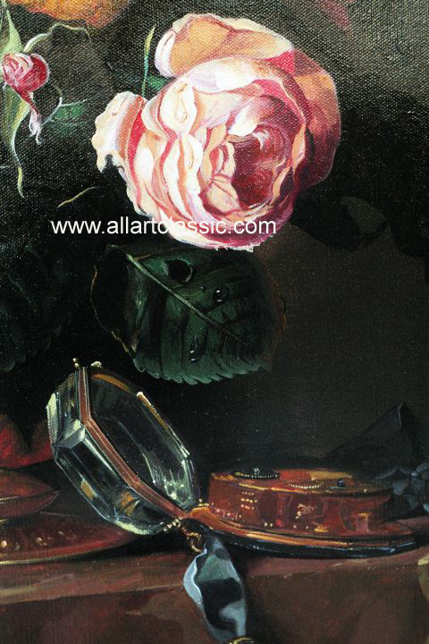 Art Reproductions Aelst_001N_C. Our Oil Painting Reproduction -Zoom Details