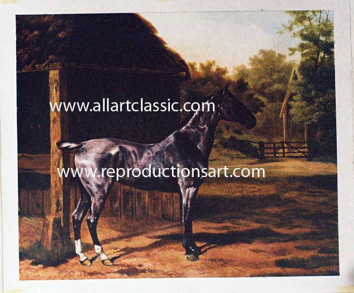 Oil Painting Reproductions of Jacques-Laurent Agasse Painting