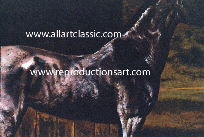 Art Reproductions Agasse-painting_L_A. Our Oil Painting Reproduction -Zoom Details