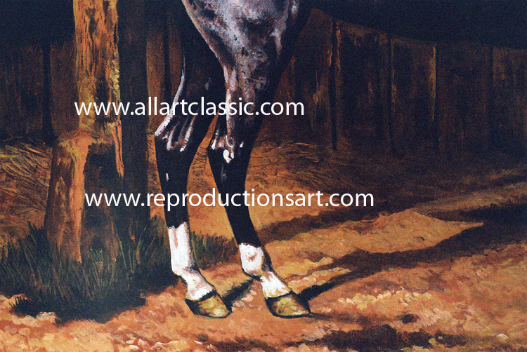 Art Reproductions Agasse-painting_L_B. Our Oil Painting Reproduction -Zoom Details