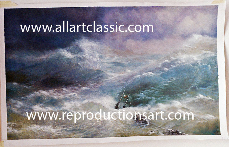 Aivazovsky Painting Work sample