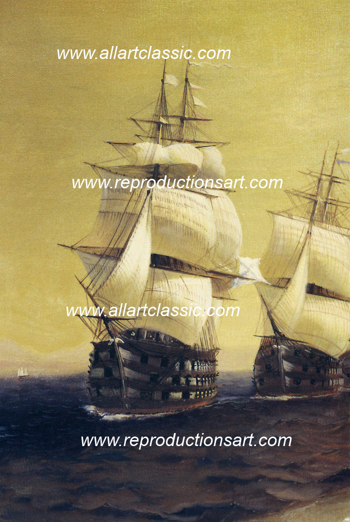 Art Reproductions Aivazovsky-paintings_024N_A. Our Oil Painting Reproduction -Zoom Details