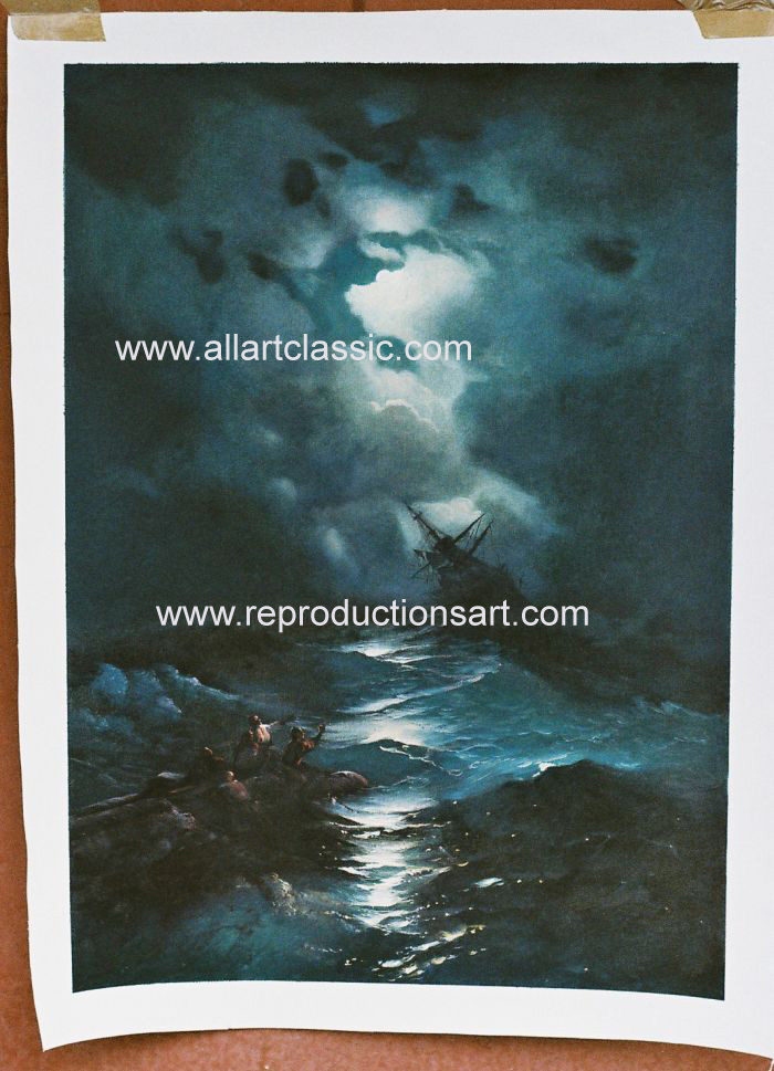 Oil Painting Reproductions of Ivan Aivazovsky Paintings