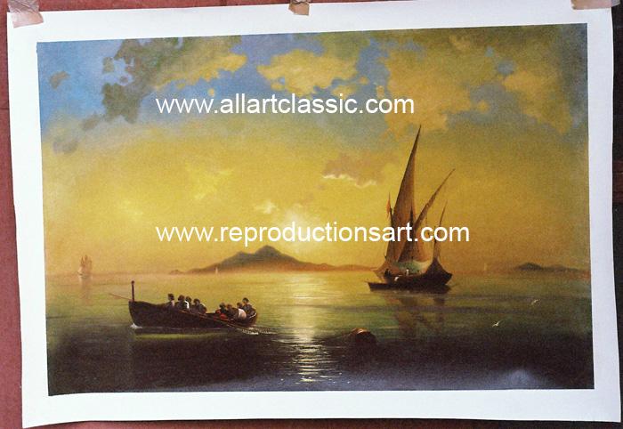 Aivazovsky Painting Work sample