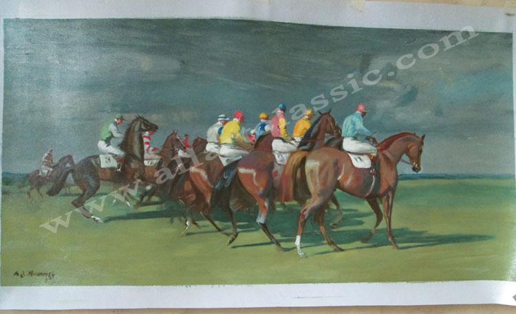 Oil Painting Reproductions of Alfred Munnings