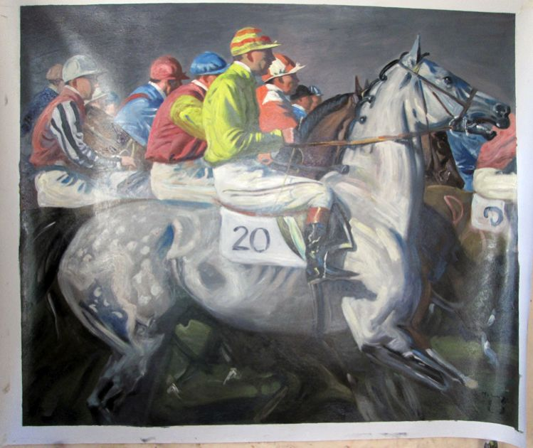 Alfred Munnings Painting Work sample