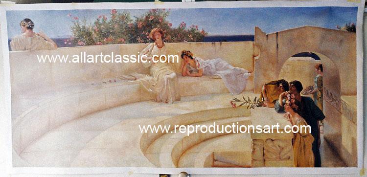 Alma-Tadema Painting Work sample
