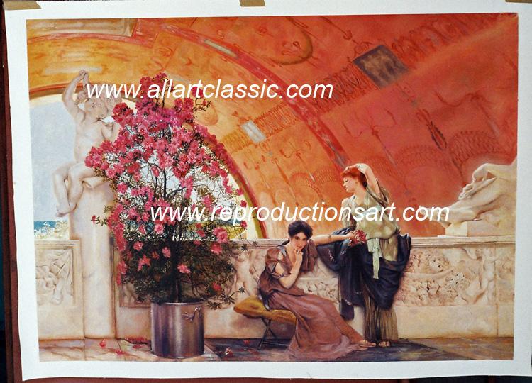 Alma Tadema Painting Work sample